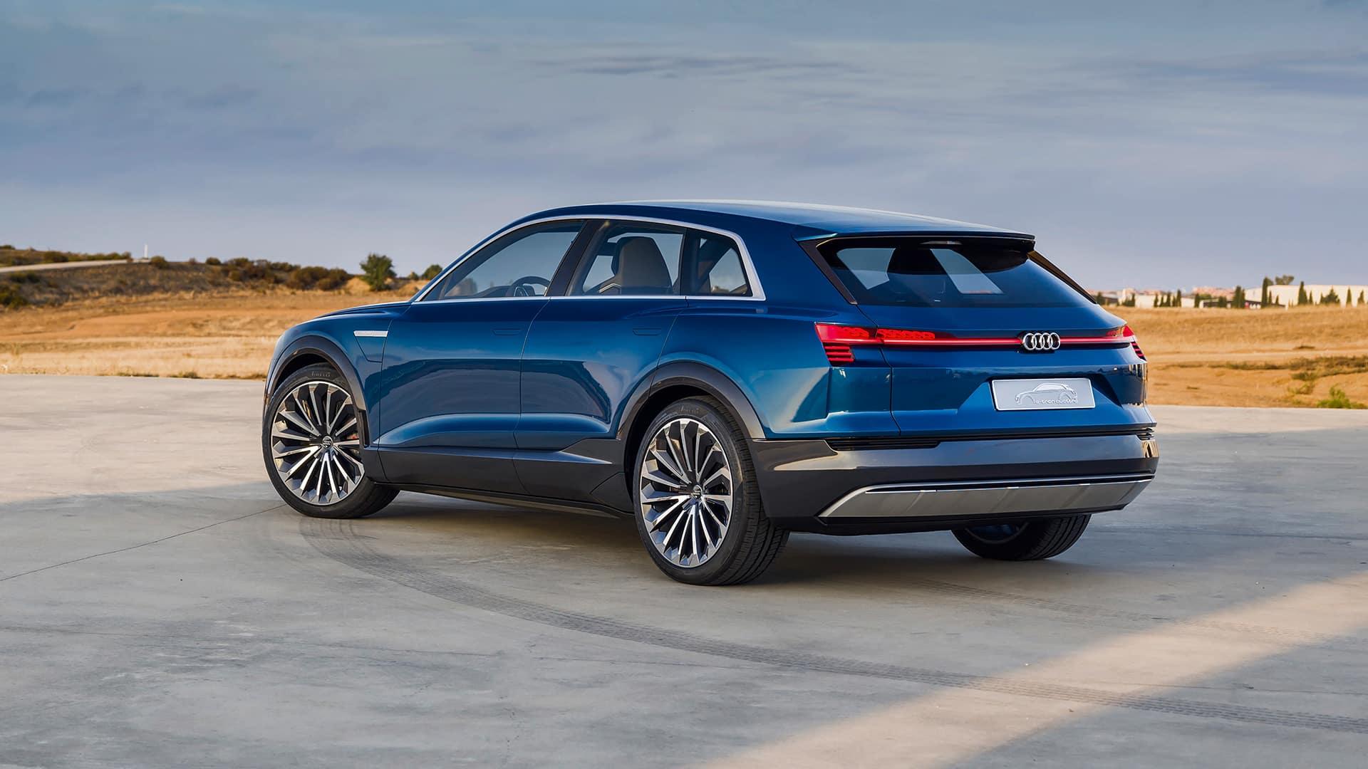 Der Audi E Tron Quattro Concept